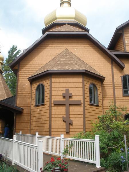 Orthodox Monastory on shore of Lake Superior