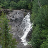 Waterfall at Eagle River bridge