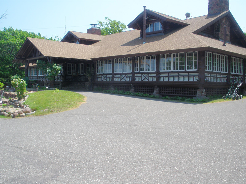 Copper Harbor resort constructed by CCC
