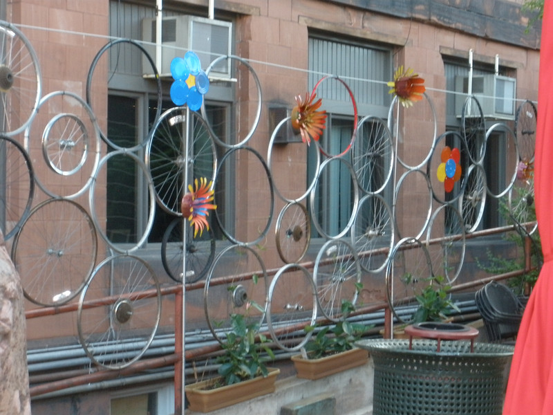 Decorative fence in Houghton