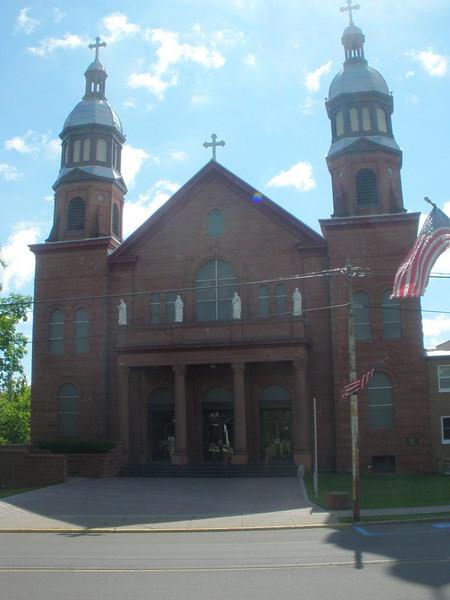 Historic Catholic Church - beautiful interior