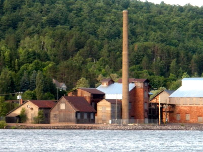 Historic Copper Ore smelter