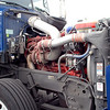 Peterbilt 386 engine ft rt