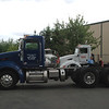 Peterbilt 386 side lf w George and Myra