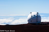 The observatory at Mauna Kea