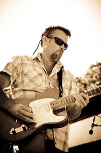 Guitarist, Johnny Hoy and the Bluefish, Tivoli Day, Oak Bluffs MA