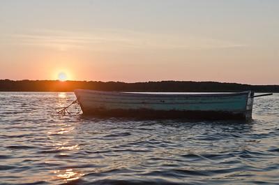 Boat, Sengekontacket Pond, Martha's Viveyard
