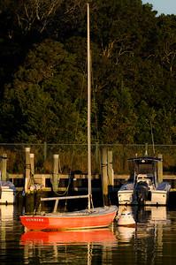 Sunrise, Harbor, Oak Bluffs MA,