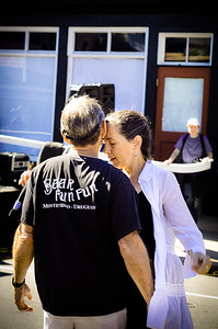 Dancing Couple,  Tivoli Day, Oak Bluffs MA