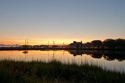 Sunrise, Sunset Pond, Oak Bluffs MA,