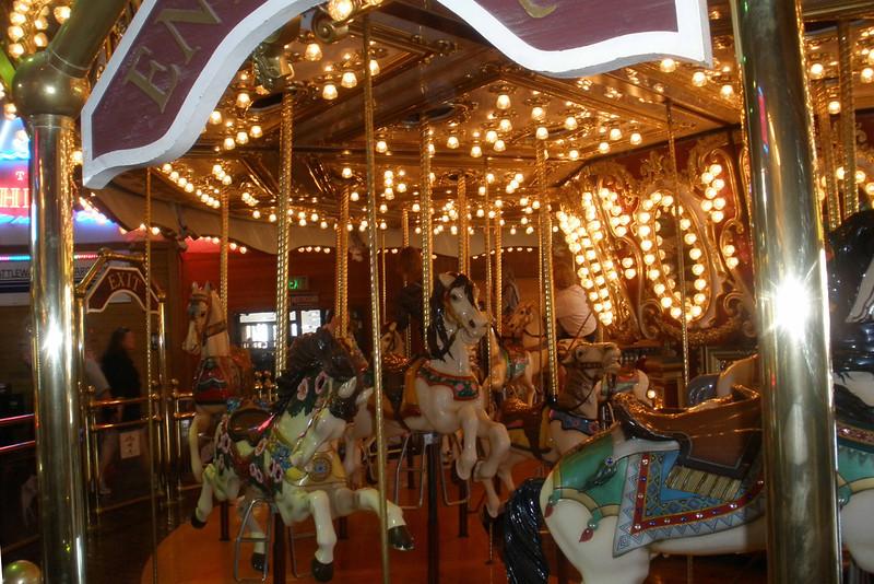 Carousel at pier