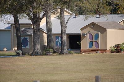 2012 11-19 Barn Quilt on HWY 159 Bellville, TX