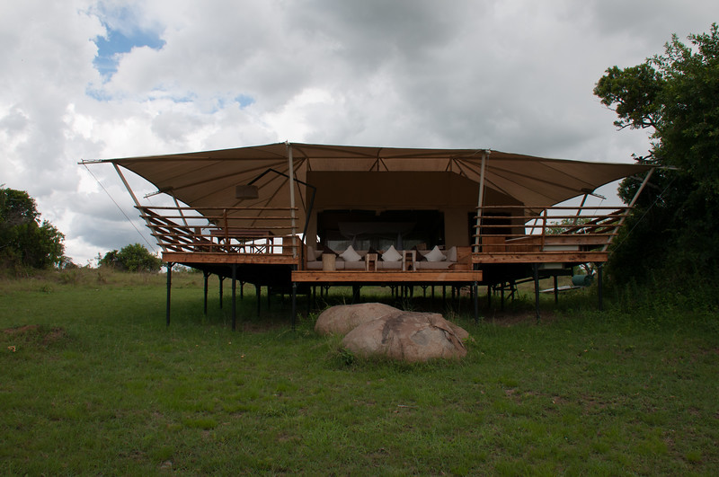 """Our first """"tent"""" - phenomenal views with lots of privacy"""