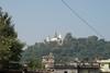 View of the Swayambhunath temple.