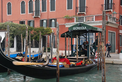 ...passing many gondola stations,