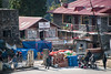 Everything gets flown in by airport into Lukla, and from here picked up by porters.