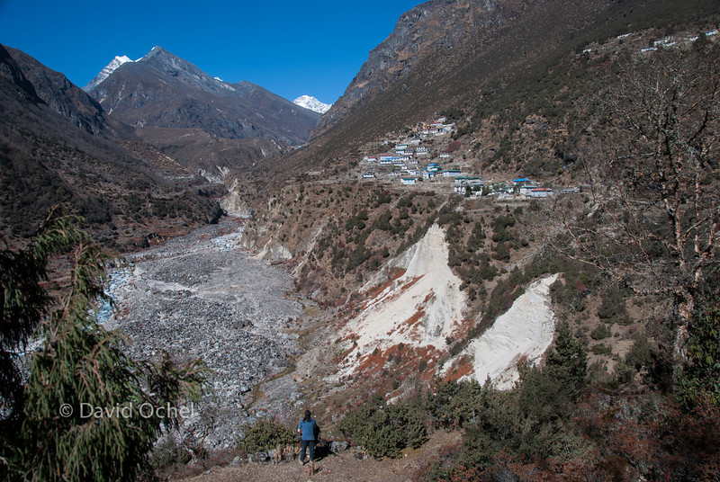 Day trip from Namche Bazaar past Tame.