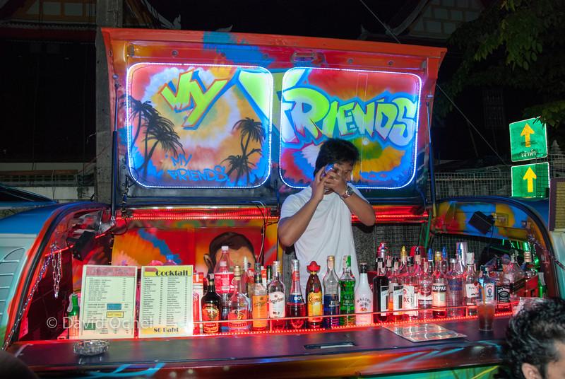 VW cocktail bar #3. Banglamphu.