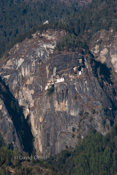 The Tiger's Nest, Bhutan's most famous monastery.