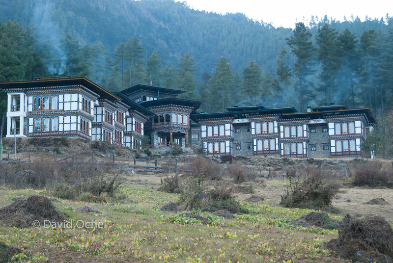 Our hotel in Gangtey.