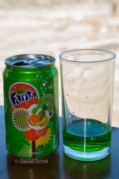 Green Fanta!
