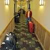 Bags were delivered to our cabin (P207) on the Diamond Princess.