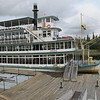 Fairbanks - we took a paddlewheel river boat ride