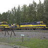 Choo Choos at Talkeetna
