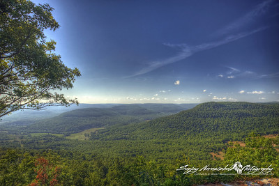 Arkansas Grand Canyon, View from Route 7