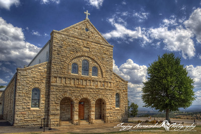 St Mary's Church, Ozark, Arkansas