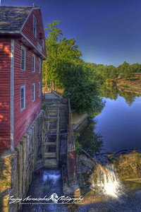 The waterwheel of the War Eagle Mill, Rogers, Arkansas 2012