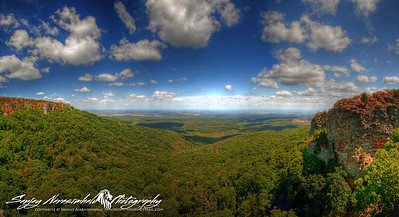 North view from Mount Magazine, Arkansas 2012