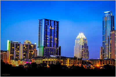 Austin cityscape in HDR