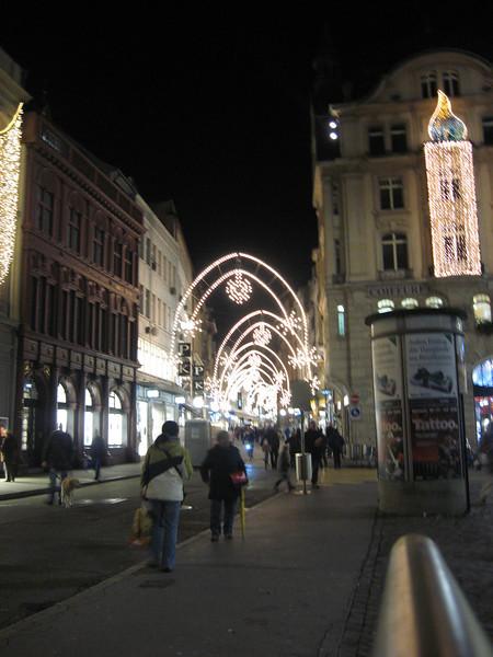 Lights along Freie strasse
