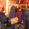 Part of the Barfusserplatz Xmas market, buying Gluhwein
