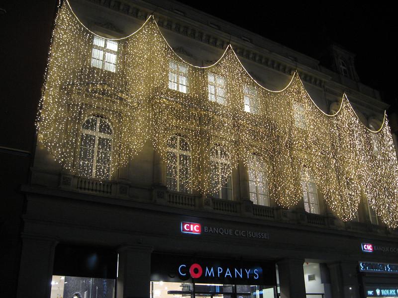 Lights near Marktplatz