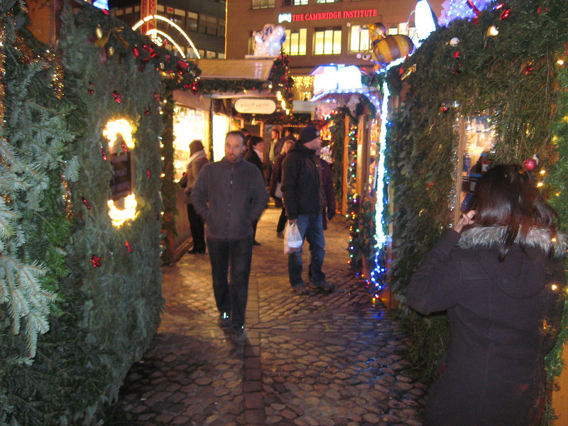 Part of the Barfusserplatz Xmas market,