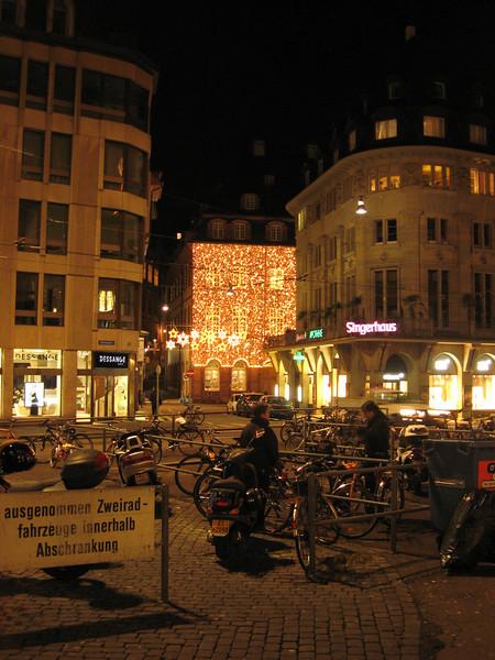Lights in Marktplatz