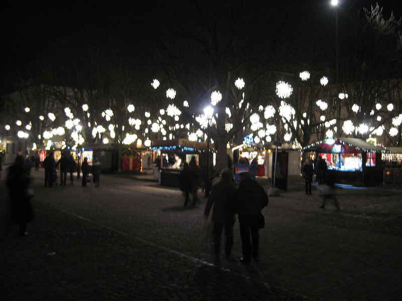 the Munsterplatz Xmas Market