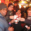 Part of the Barfusserplatz Xmas market, drinking Gluhwein