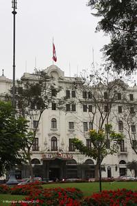 Plaza San Martin, Lima.