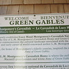 Visiting the site that inspired the book, Anne of Green Gables on Prince Edward Island.