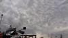 Ominous clouds near Sidney, Nebraska.