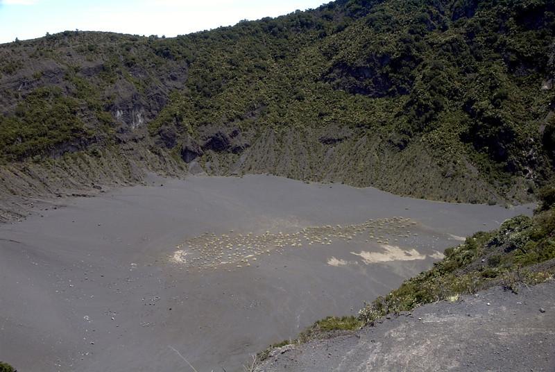 Cráter Diego de la Haya V. Irazú