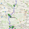 Itinerary: Prague - Konopiste Castle - Cesky Krumlov - Hallstatt - St.Gilgen - St.Wolfgang - Hallstatt - Bled - Lake Bohinj - Bled - Vrsic Pass - Piran - Ljubljana