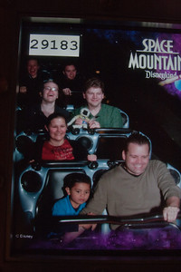Space Mountain: Highlight of Andrea's year?