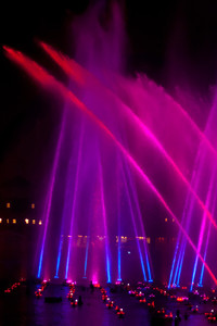 World of Color and geysers.