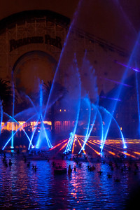 World of color and lasers and geysers.