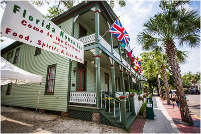 Oldest hotel in Florida, the Florida House Inn