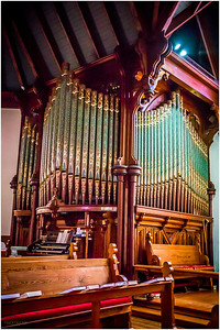 Organ at St. Peters Episcopal Church